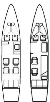 Aircraft Interior Schematic 2